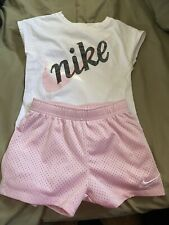 Nike Short Outfit. Little Girls Size 6