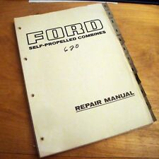 Ford 620 Consul Combine Service Repair Manual by Claas