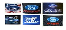 ford Racing flag 3x5ft banner
