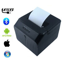 Bluetooth 58mm Thermal Paper Printer Barcode Label Print Device For Windows iOS