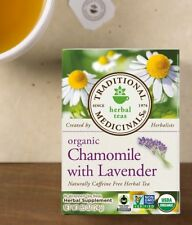 Traditional Medicinals Chamomile with Lavender organic tea