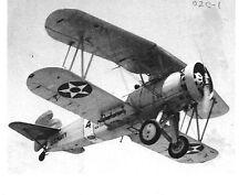 "U.S. NAVY #4  NEW YORK 02C-1 BIPLANE AIRPLANE 5"" x 7"" B&W Photograph"
