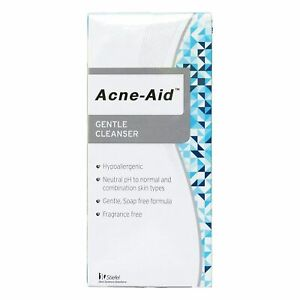Stiefel Acne-Aid Liquid Gentle Cleanser Pimple Oil Dry Sensitive Skin 100 ml.
