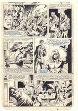 Ka-Zar the Savage #23 p.15 - Ka-Zar - Sketches on Back - 1983 art by Bob Hall Comic Art