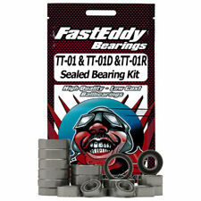 Fast Eddy Bearings TFE1389 Tamiya TT-01 Chassis Sealed Bearing Kit