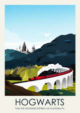 Harry Potter Hogwarts Express Art Print Poster