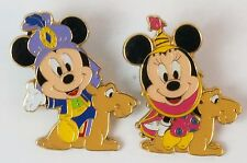 Tokyo Disney Resort Game Prize Pin On The Camel Mickey Minnie TDR JAPAN