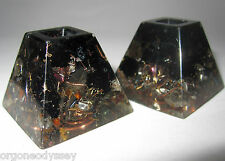 Black Tourmaline Crystal Gemstone Orgone Energy POR Generating Device Protection