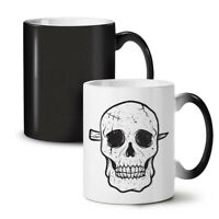 Skeleton Face NEW Colour Changing Tea Coffee Mug 11 oz | Wellcoda