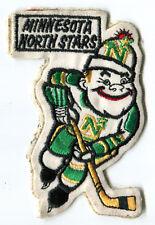 "1970'S MINNESOTA NORTH STARS NHL HOCKEY 4.5"" CARTOON PATCH"