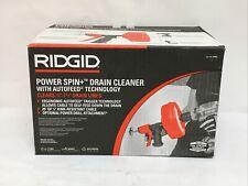Ridgid 57043 Power Spin Drain Cleaner 34 1 12 Drain Lines
