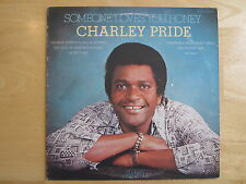 CHARLIE PRIDE ~ SOMEONE LOVES YOU HONEY  VINYL RECORD LP