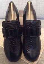 Orla Kiely Clarks, Alice Black Shoes, SIze UK 3.5, EUR 36