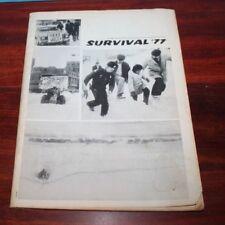 Survival '77- University of Buffalo Blizzard of 77 Spectrum Student Publication