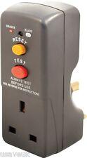 Masterplug RCD Safety Adaptor Socket Plug