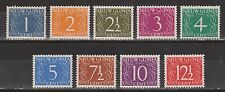 Indonesia Nederlands Nieuw Guinea 1 - 9 MLH 1950 MUCH MORE NEW GUINEA