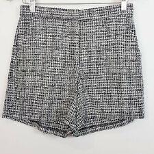 KAREN WALKER | Womens Tweed Shorts [ Size AU 8 ]