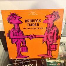 The Dave Brukeck Trio - Brubeck   Tjader - Mono LP Red Translucent Vinyl! (1962)