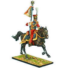 """First Legion: NAP0420 2nd Dutch """"Red"""" Lancers of the Imperial Guard Bearer"""