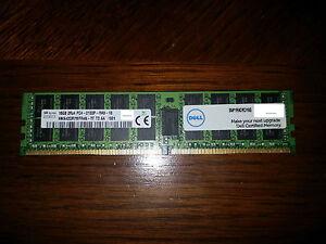 Dell snp1r8crc/16g 16gb Ddr4 PC4-2133P Memory Module for R530 R630 R730 R830