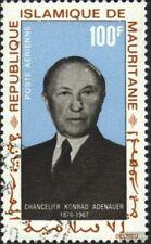 Mauretanien 333 (kompl.Ausg.) gestempelt 1968 Konrad Adenauer