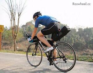 Bike Packing Gravelling Waterproof 2 Pcs Kit including Saddle and Handlebar Roll