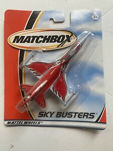NEW 2001 Matchbox Sky Busters Diecast Airplane F-16 (12)