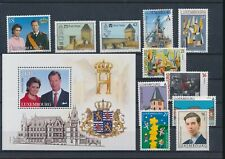 LL97411 Luxembourg mixed thematics fine lot MNH
