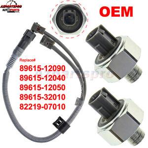 2PC Knock Sensor OEM W/ Harness For LEXUS TOYOTA GEO PRIZM 89615-12050 5S2254