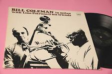 BILL COLEMAN LINO PATRUNO... LP IN MILAN TOP ITALY JAZZ EX