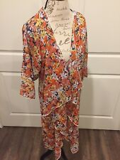 LuLaRoe New Spring Summer Floral Shirley Medium: Perfect Swim Kimono. Polynesian