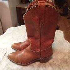 Vintage Frye biker cowboy western campus riding womens boots sz 8.5 B