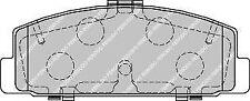 FERODO FDB1721 asse posteriore auto Premier Set Pastiglie dei Freni sostituisce ggym 2643Z