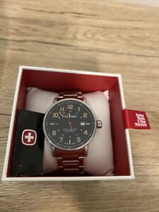 Wenger Expedition mens watch (New, Swiss Made, Sapphire Crystal Dial, 100m WR)