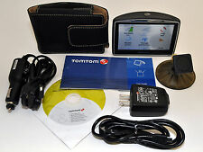 TomTom GO 630T Car Portable GPS Navigator LIFETIME TRAFFIC usa/canada Maps 730