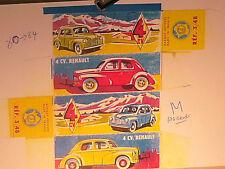 REFABRICATION BOITE RENAULT 4CV 1955 JOUETS CIJ