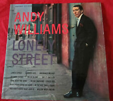 Lonely Street Andy Williams vintage record vinyl LP album CLP 3030 Cadence
