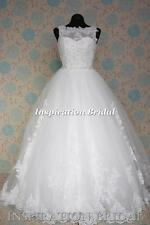 1540 Willow UK Wedding Dresses bateau neckline dress bolero jacket button