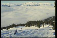 061025 esquí los senderos Blackcomb Montaña Columbia Británica A4 Foto Impresión