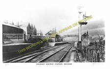 Brithdir Railway Station Photo. Bargoed - Tir Phil & New Tredegar. Rhymney. (2)