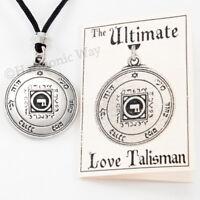 Solomon Seal Talisman Necklace Magic LOVE AMULET Power Pentacle of Venus Pendant