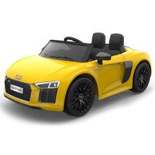 Auto elettrica Lamas Toys AUDI R8 Spyder Giallo con Telecomando