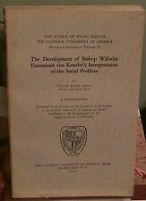 Bishop Wilhelm von Kettler's Social Problem, Hogan