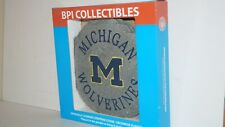 New listing University of Michigan Um Wolverines Stepping Stone Or Wall Hanging Plaque -Nib