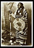 ⫸ 994 Postcard San Juan, Mescalero Apache Chief, George Wittick 1883 Photo – New