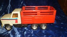 Vintage ERTL International Livestock Stake Body with Ramp Farm Truck