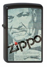 Zippo George G. Blaisdell Depot Black Matte Feuerzeug 2002678 , Neu Spring 2012
