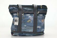 LeSportsac Blue Jeans Medium Travel Tote  NWT!