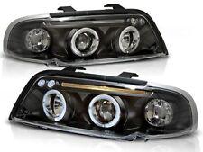 audi a4 b5 sedan wagon 1994 1995 1996 1997 1998 lpau34 headlights halo rims