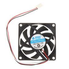 Portable Computer Case Cooler 12V 7cm 70mm PC CPU Cooling Cooler Fan #gib